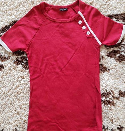 Дамска памучна тениска