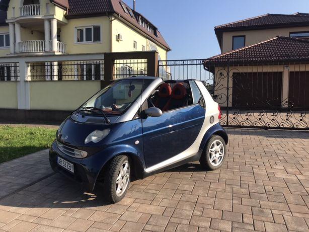 Smart Cabrio cu Motor Nou 0km/ AC / Incalzire scaune