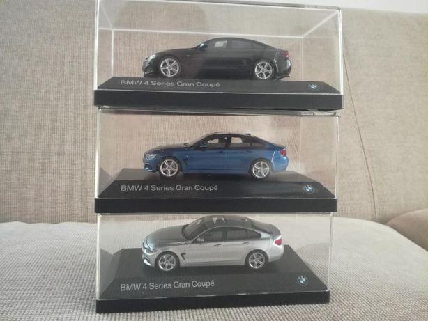 Vand macheta BMW 4 Gran Coupe F36 original Kyosho scara 1 43