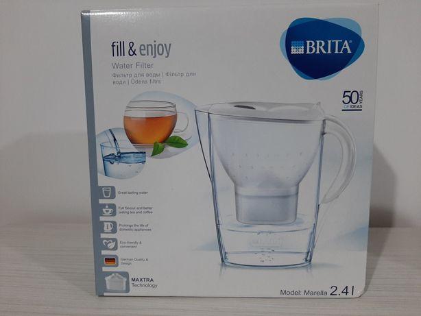Cană filtrantă BRITA fill & enjoy, model:Marella 2.4 l