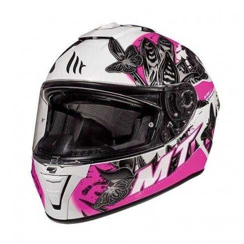 Дамска каска за мотор скутер