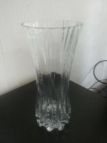 2 бр стъклени вази - стъкло, цветно стъкло - ваза