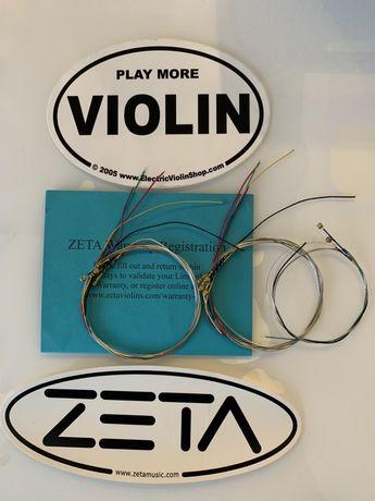 Corzi vioara zeta - originale
