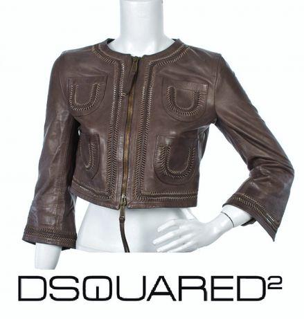 DSQUARED 2 оригинално кожено яке М , 42