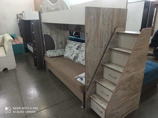 Детский кровать для трех детей