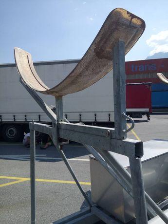 Конструкция за ремарке за транспорт на лодка с кил