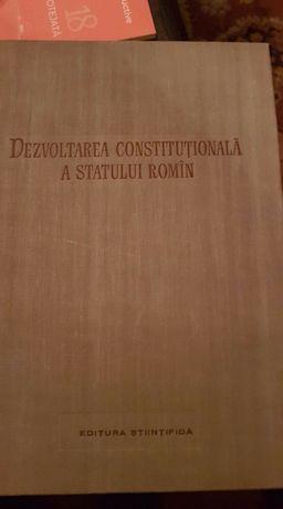 Dezvoltarea constituţionala a statului român Studenților la drept