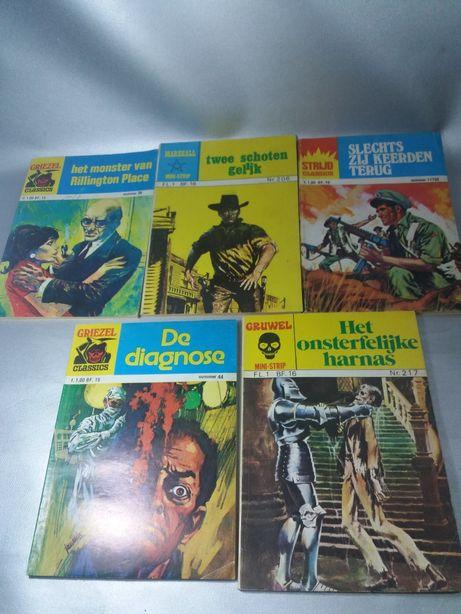 Cărti gen Pif benzi desenate din 1976original de colecție 5 piese