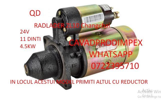 Electromotor chinezesc pentru tractoare ,generatoare la24v ,11dinti
