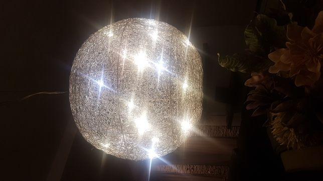 Pendul glob candelabru leduri