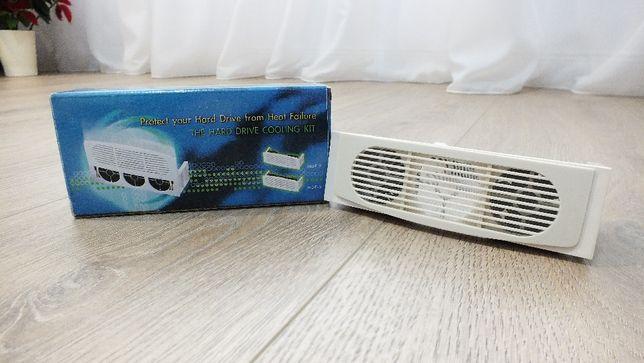 Kit de racire pentru carcasa tip HDF-2 cu 2 ventilatoare de 40 mm