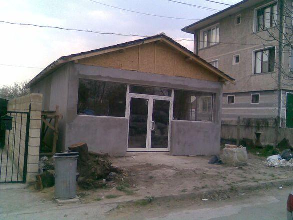 Къща в строеж с Езерово община Белослав Варна.