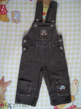 бебешки/детски гащеризон - джинсов -9-12м. /80см./
