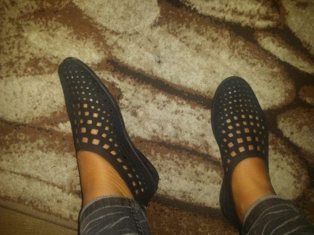 Pantofi piele întoarsă 38 noi