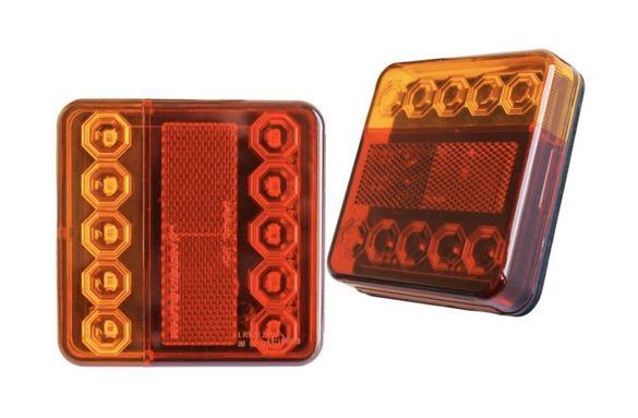 Стопове LED Диодни 12V. за Ремаркета Каравани Колесари Платформи 2бр.