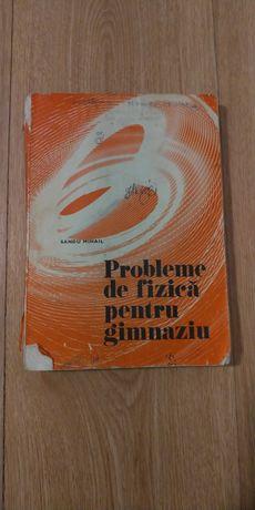Vand manual Probleme de fizica pentru gimnaziu