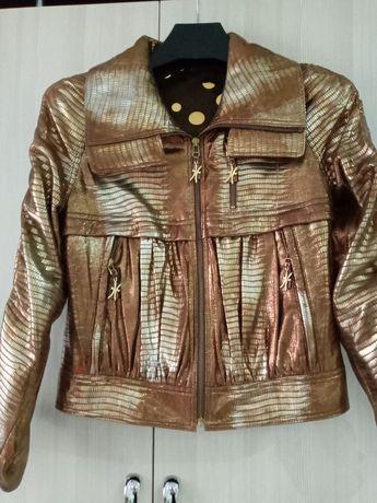 Кожаная курточка,джинсовка шуба мутон(цегейка)