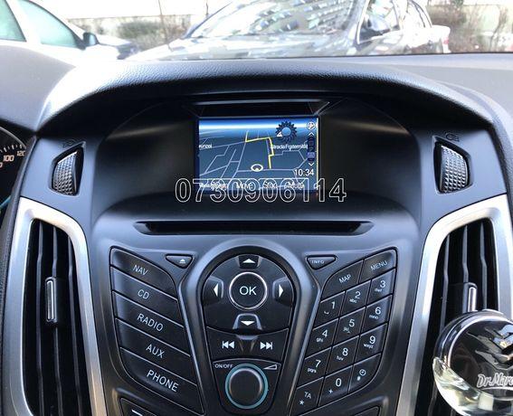 Card navigatie Ford MFD Focus Fiesta Kuga C-Max harta ROMANIA 2019