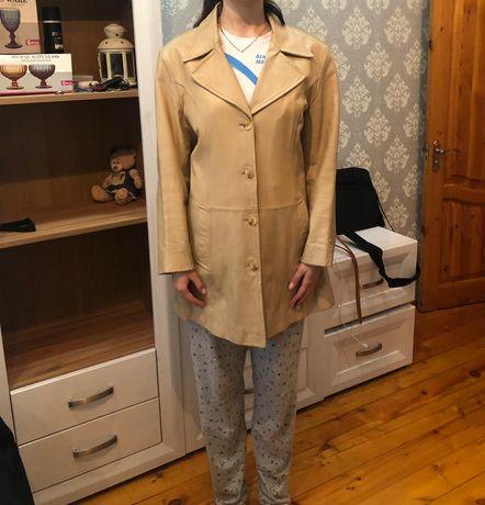 Женская кожаная куртка(Англия)