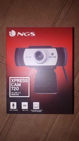 Уеб камера NGS Xpresscam720 с микрофон