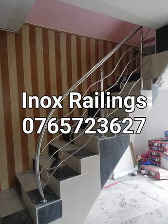 Balustrade din inox