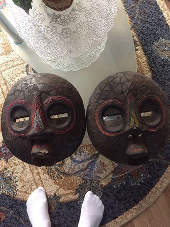Vând măști artizanat din Africa