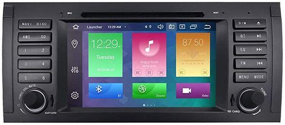 Навигация 7 инча с Андроид БМВ Е39 Е53 BMW E39 X5 E53 Android 7.1
