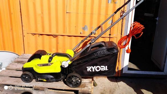 Електрическа косачка Ryobi RLM3615 33cm 1300w използвана