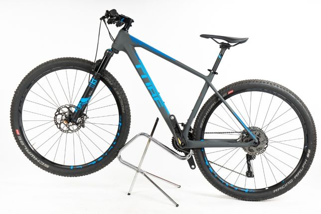 Bicicleta MTB CUBE REACTION C:62 SL Grey Blue