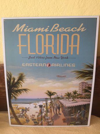 *Чисто Нова* Табела  Флорида Florida Закупена от САЩ USA