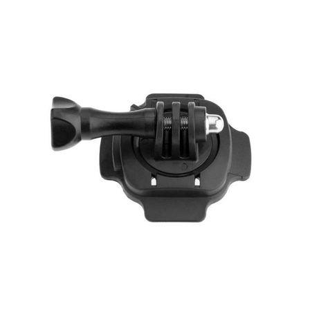 Ротационна 360 стойка за каска за екшън камери gopro и др.   hdcam.bg