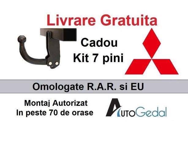 Carlige de remorcare omologate RAR Mitsubishi Asx - 5 ani garantie