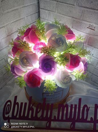 Светильник из Мыльных роз