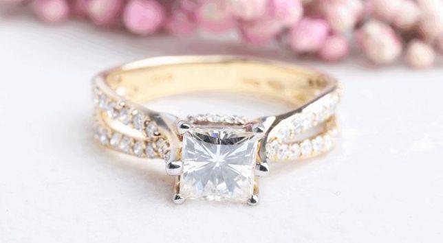 Кольцо с бриллиантами, золото 750 Россия, вес 4.03 г. «Ломбард Белый»