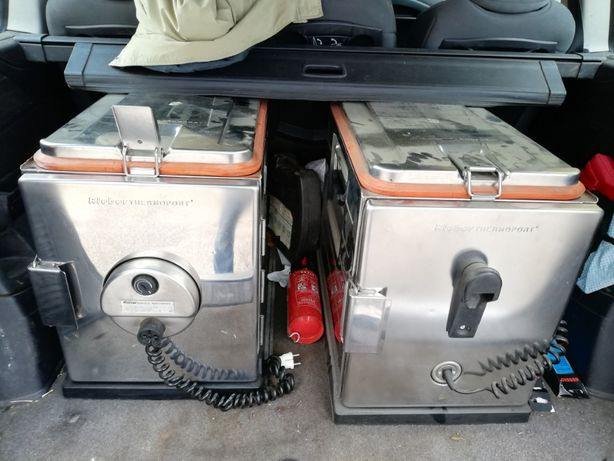 Vand Dulap de inox profesional cu incalzire pentru trasport, HORECA
