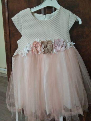 Платье нарядное на рост 92