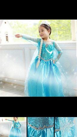 Детска рокля Елза и обувки