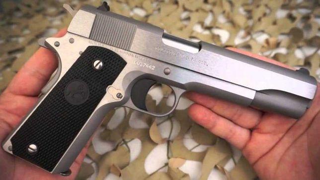 Pistol Airsoft COLT 1911 Modificat 4,7 Jouli STOK LIMITAT 20 EXEMPLARE