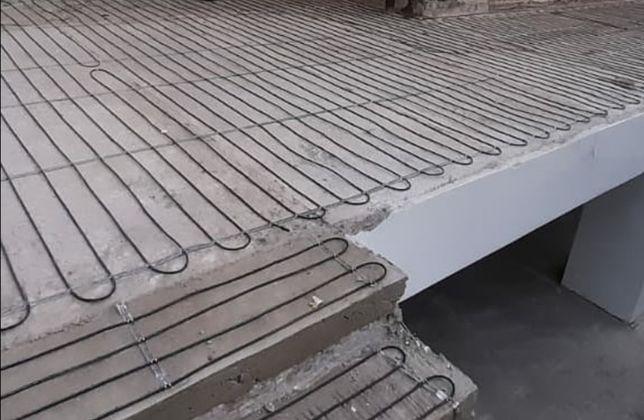 Греющий кабель, обогрев желобов, лестниц