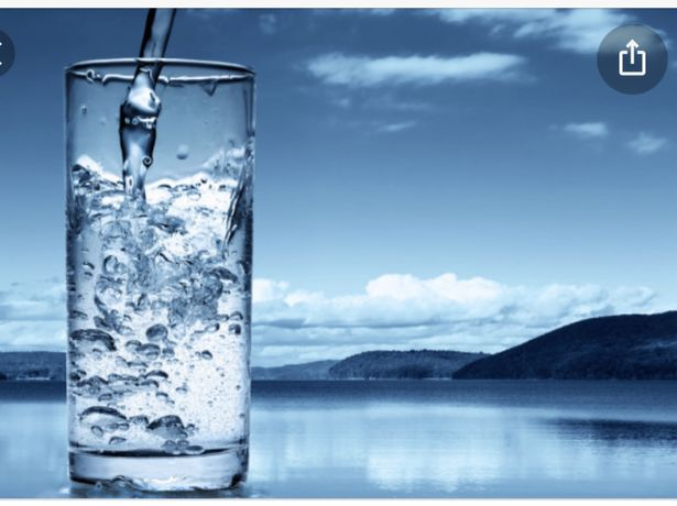 Место для автомата по продаже воды.