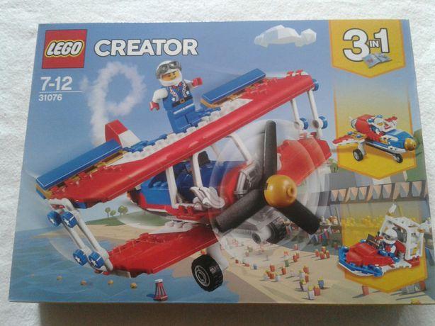 Lego 31076 Creator 3in1, Avion/racheta/ barca acrobatii, nou, sigilat