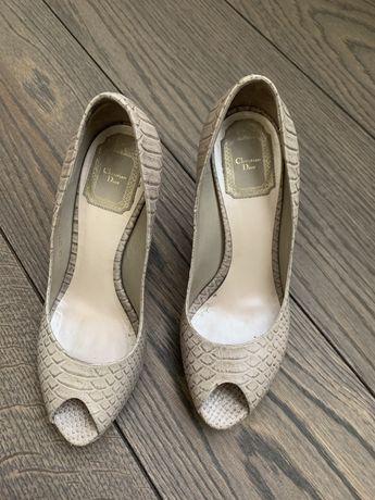 Туфли Dior б/у размер 37,5