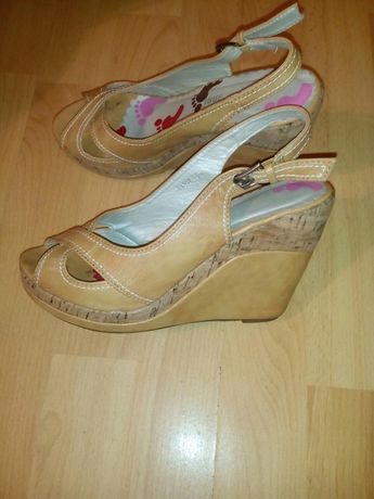 Sandale piele 36 Italia