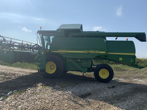 John deere wts 9540 an fabr 2004 import Germania