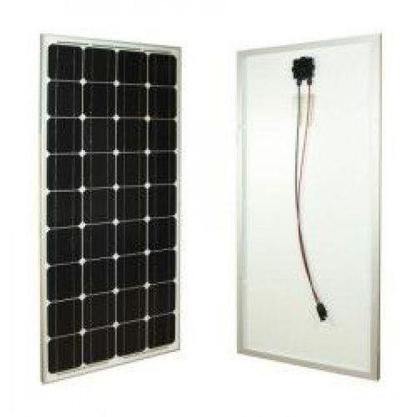 Panou Solar Fotovoltaic Monocristalin 200w / 150 / 120 / 100 w Camping