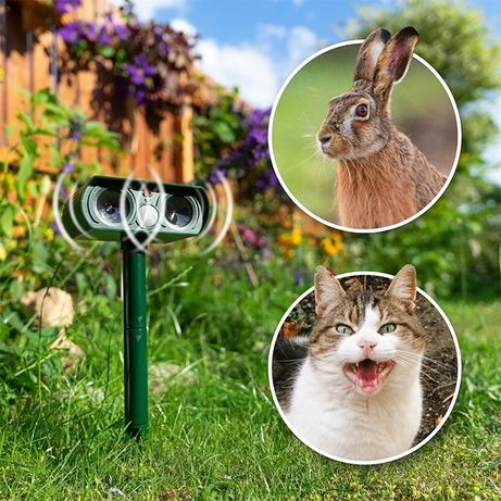 Соларен уред против котки, кучета, гризачи и диви животни SOLAR TIER-A