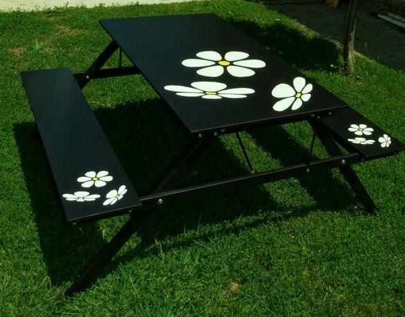 Градинска маса с пейки / Пикник маса
