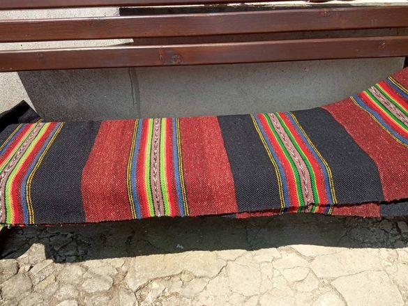 Голяма тъкана българска черга три броя