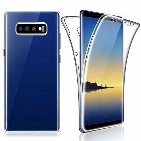 Samsung Note 8 Note 9 Husa Ultra Slim Fata Spate Silicon Transparent