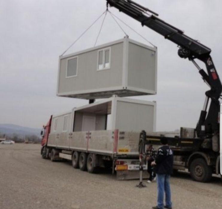 Vând container de pe stoc 2,40x 6 x2 =3600 e si căsute case Oradea - imagine 1